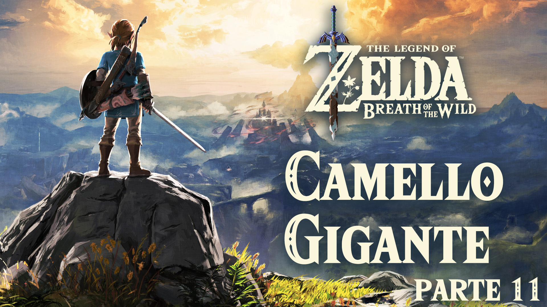 Serie The Zelda Breath of the Wild #11 – Camello Gigante