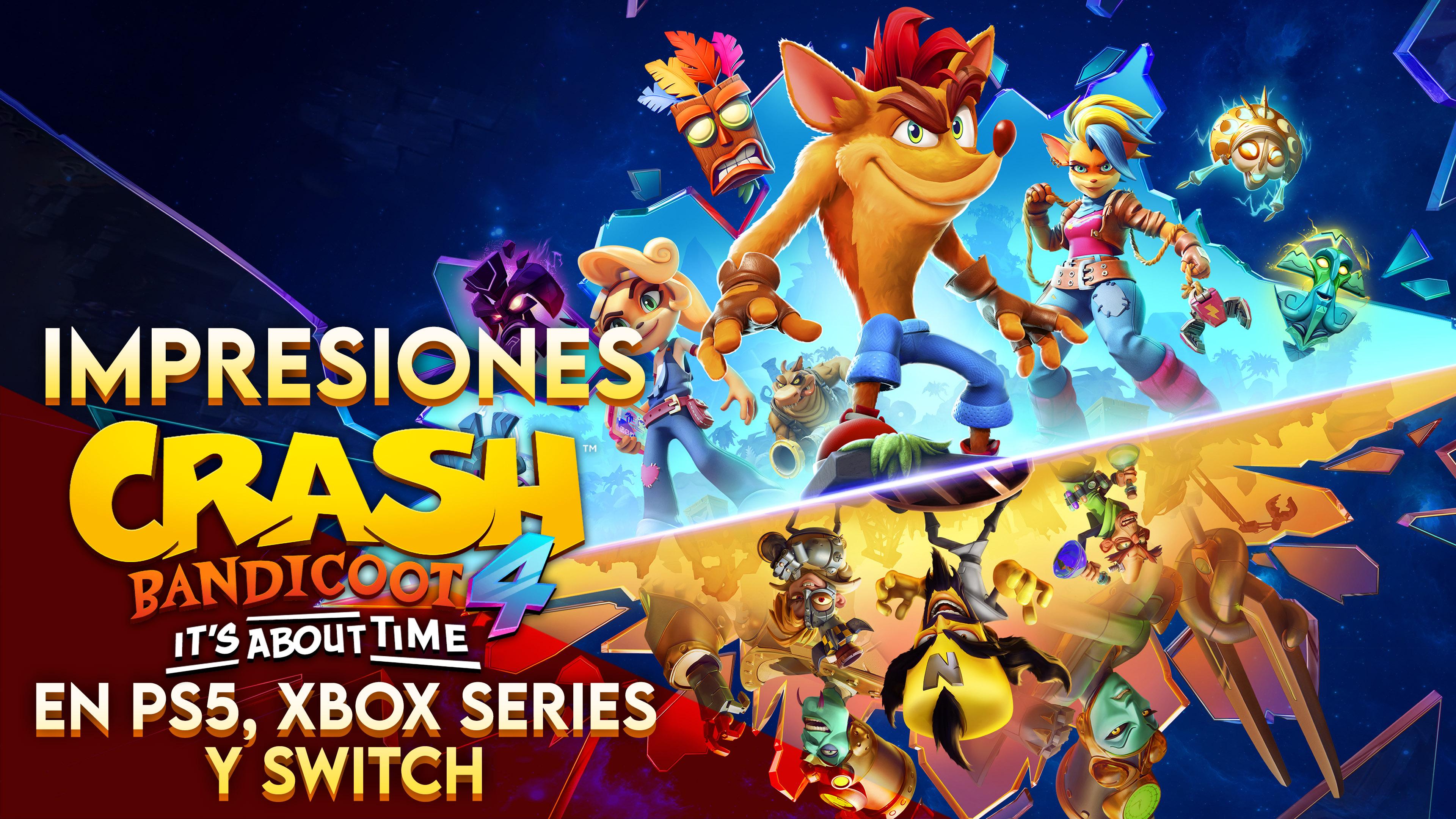 Impresiones Crash Bandicoot 4 en Next Gen y Switch – ¡Mejor que Nunca!