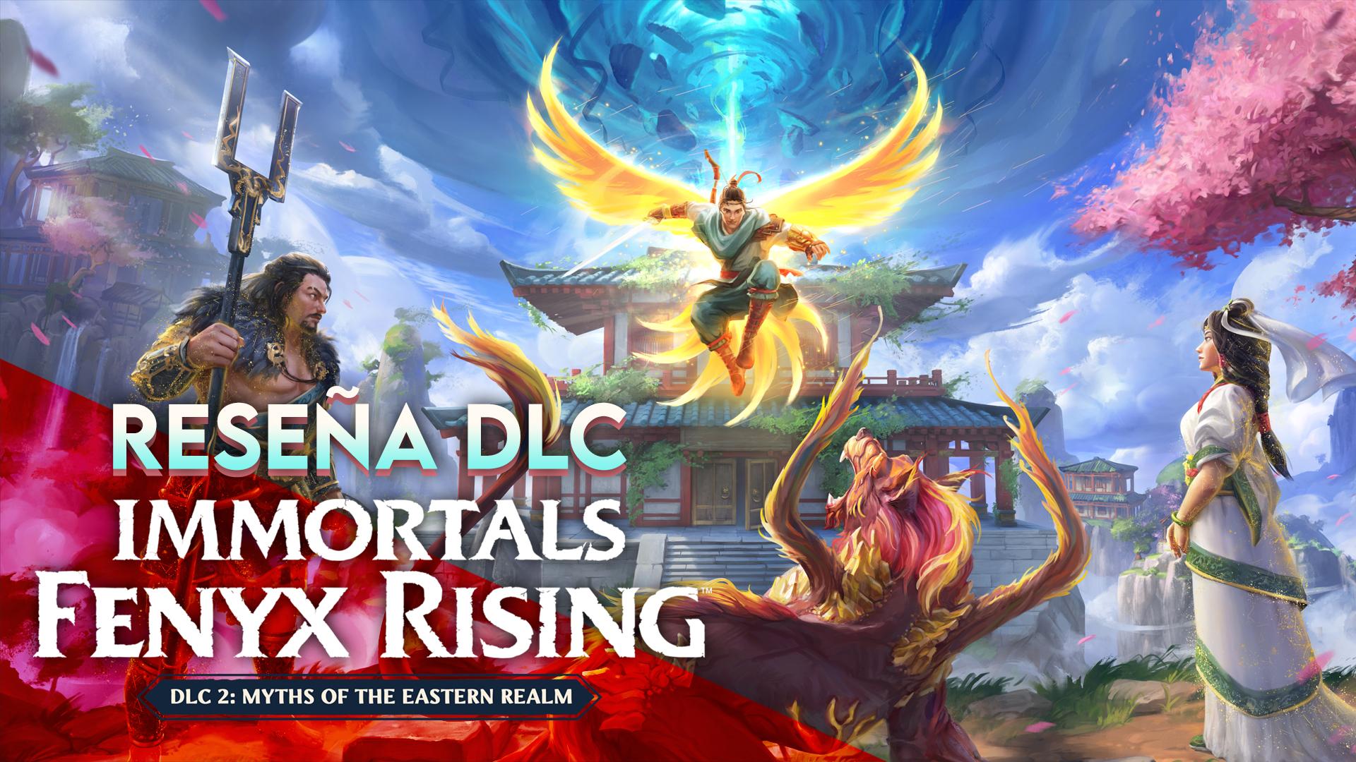 Reseña DLC Immortals Fenyx Rising: Myths of the Eastern Realm – Bienvenida la mitología china