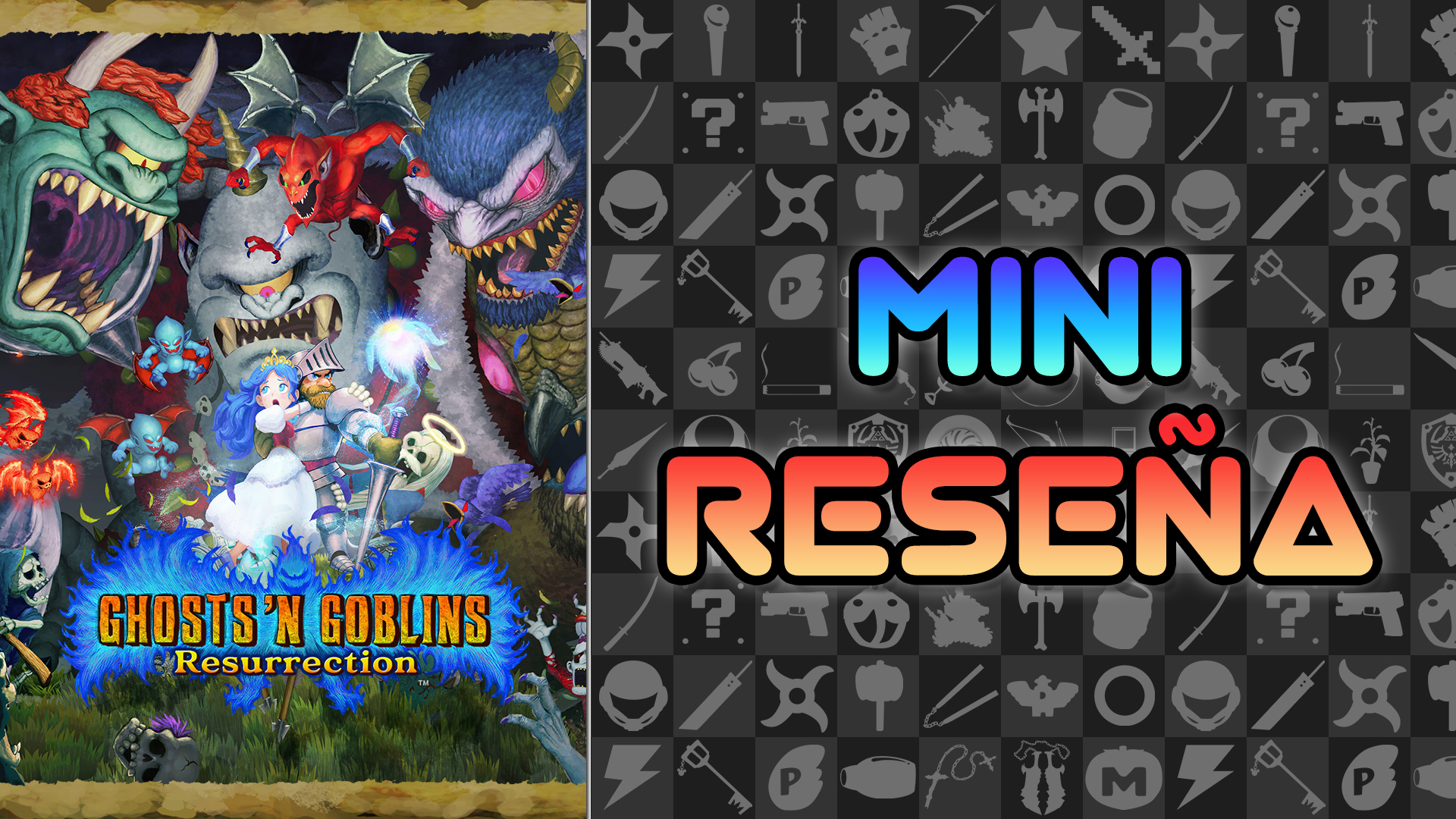 Mini Reseña Ghosts 'N Goblins Resurrection