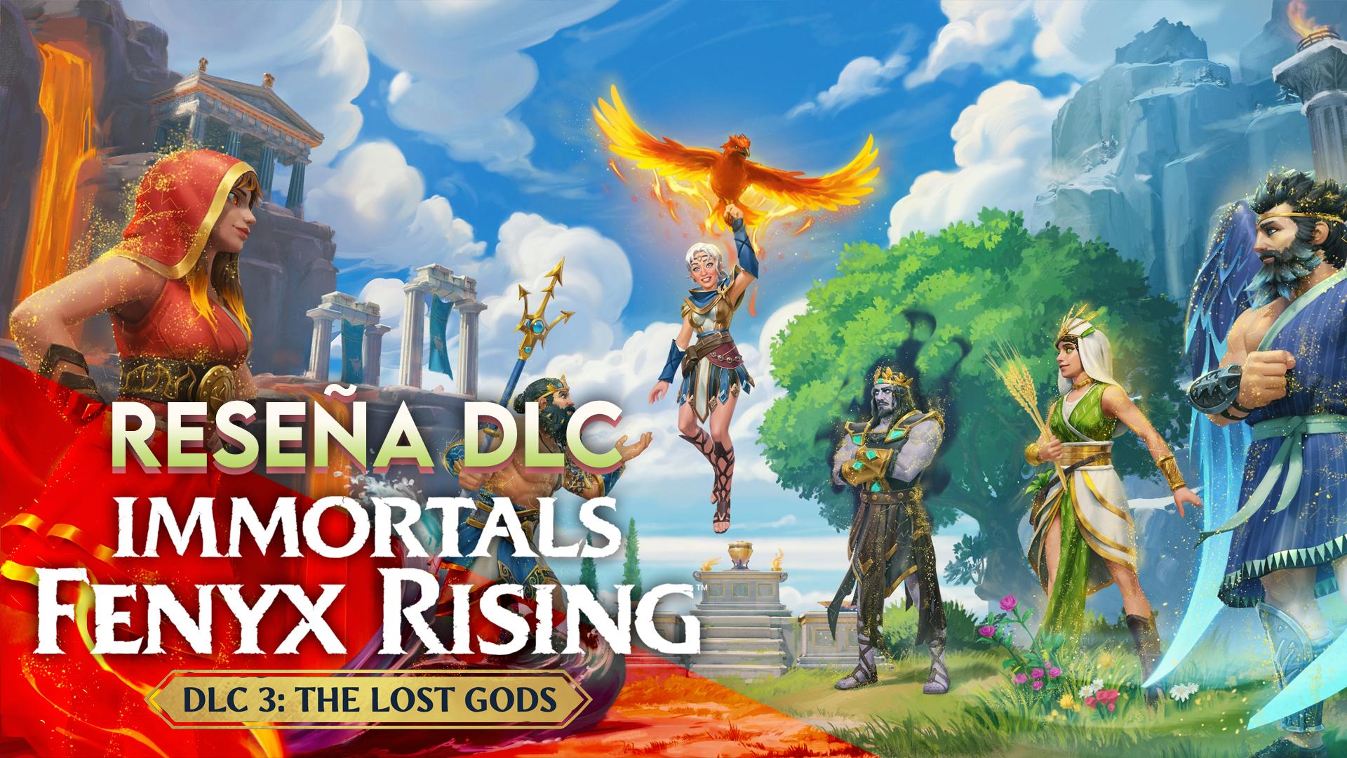 Reseña DLC Immortals Fenyx Rising: The Lost Gods – Encontremos a esos dioses desobligados