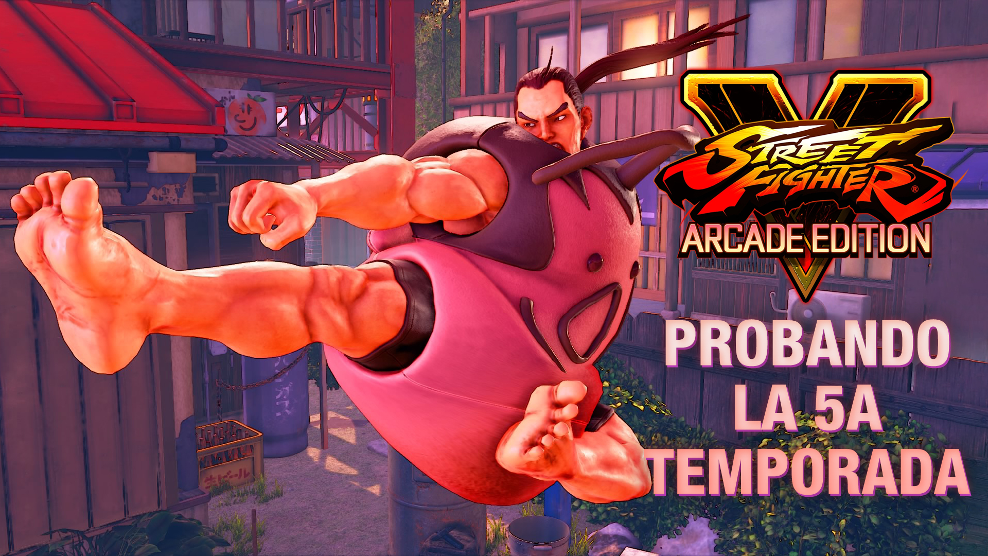 Street Fighter V: Champion Edition – Probando la 5ta temporada