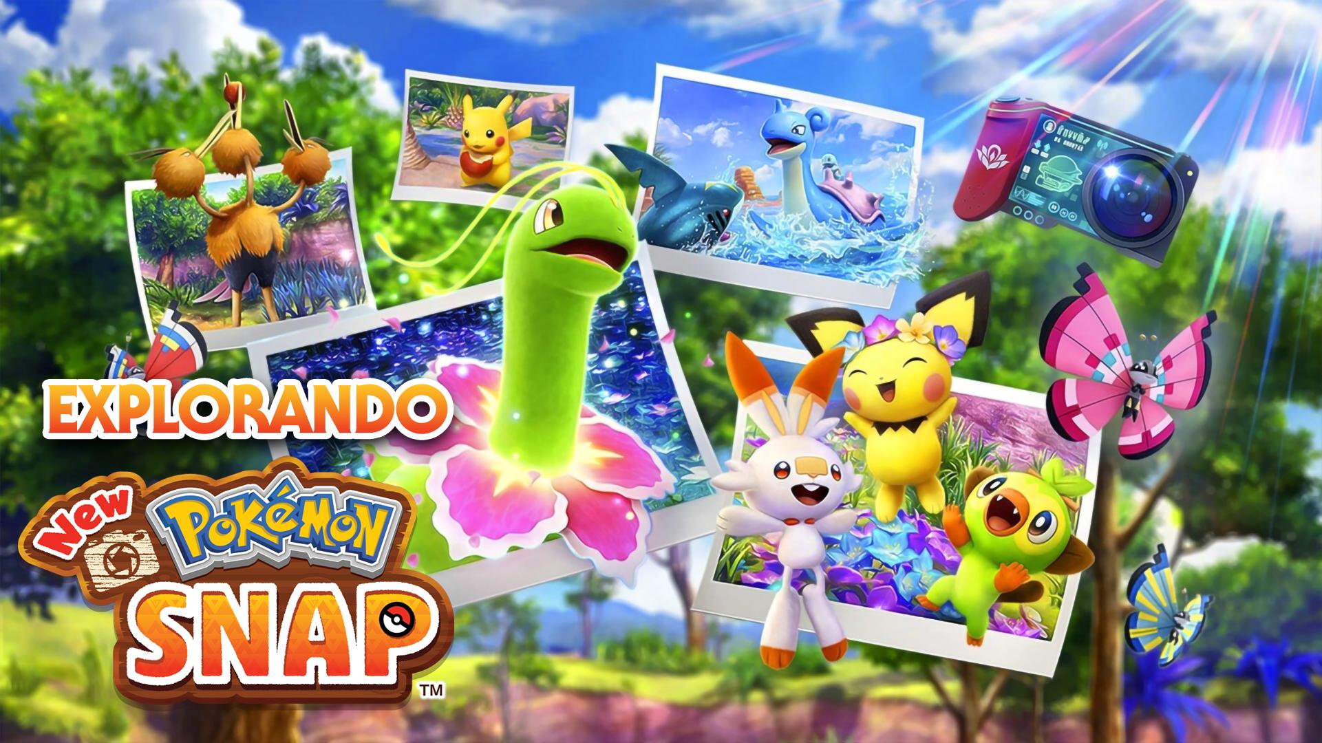 Explorando New Pokémon Snap