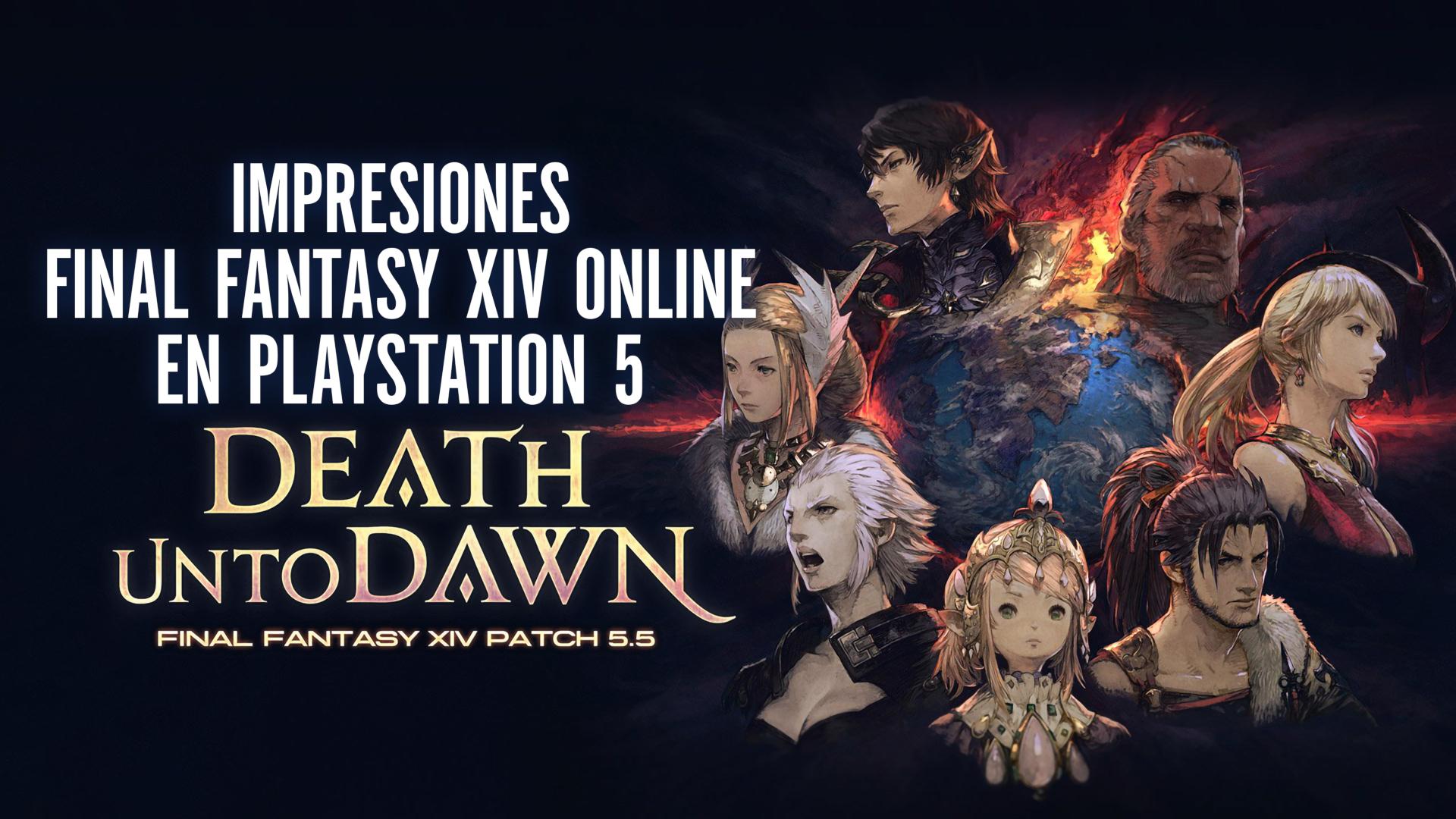 Impresiones Final Fantasy XIV Online en el PlayStation 5