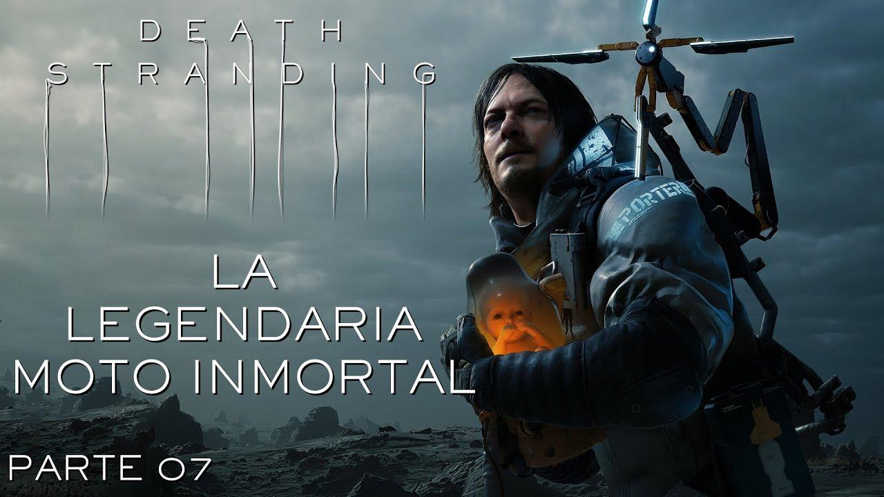 Serie Death Stranding #7 – La legendaria moto inmortal