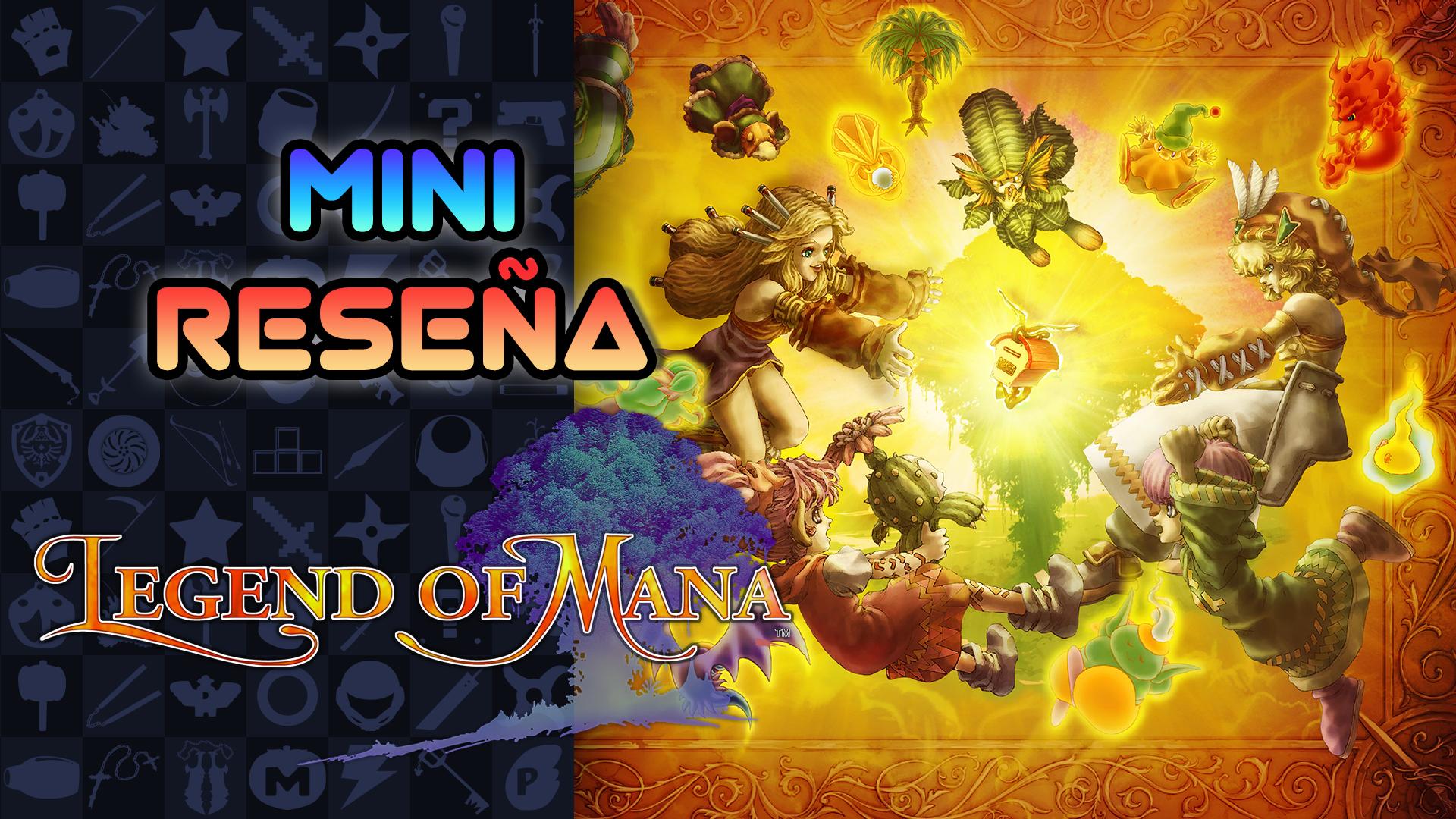 Mini Reseña Legend of Mana – Un JRPG muy peculiar