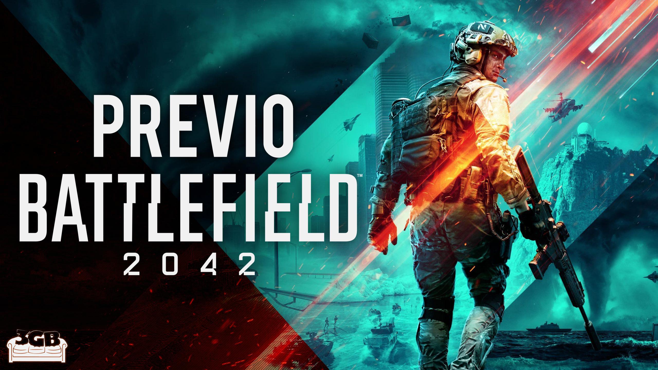 Previo Battlefield 2042 – De vuelta a las andadas