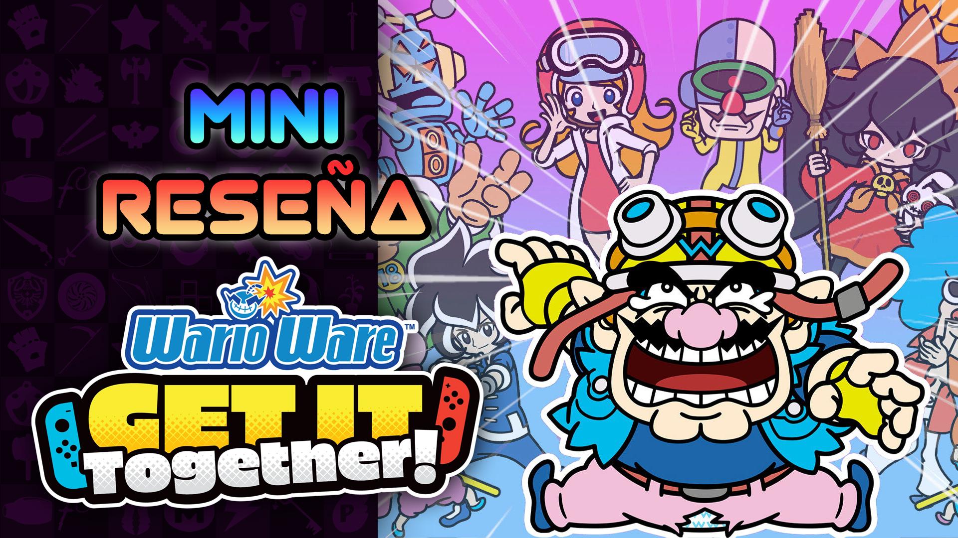 Mini Reseña WarioWare: Get It Together! – Micro-Diversión para Dos