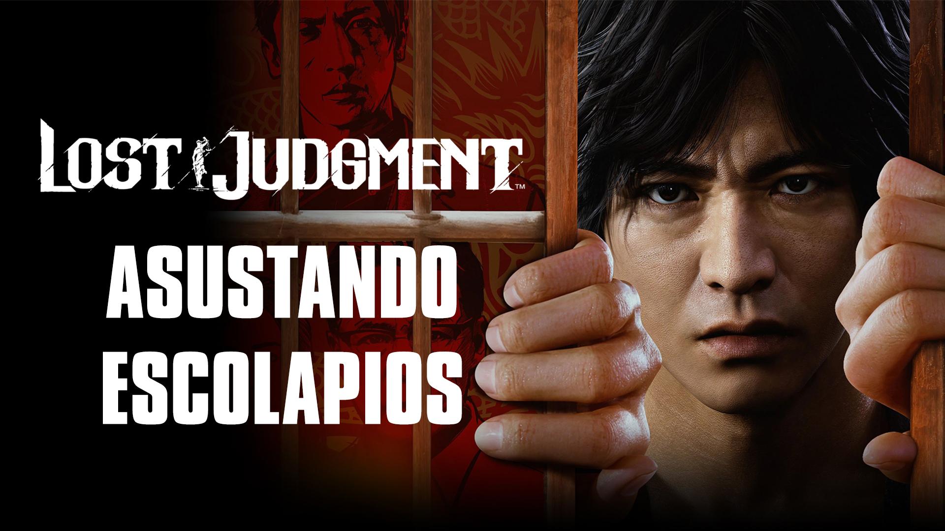 Lost Judgment  – Asustando Escolapios